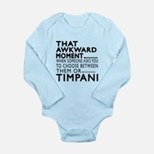 Timpani Awkward Moment Long Sleeve Infant Bodysuit