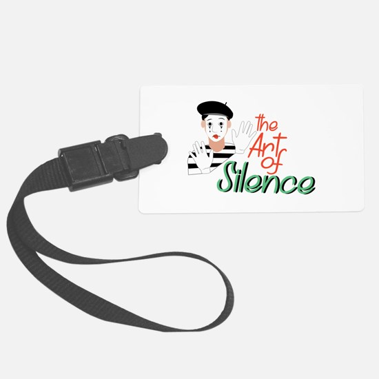 Art of Silence Luggage Tag
