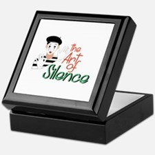 Art of Silence Keepsake Box