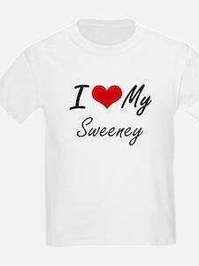 I Love My Sweeney T-Shirt
