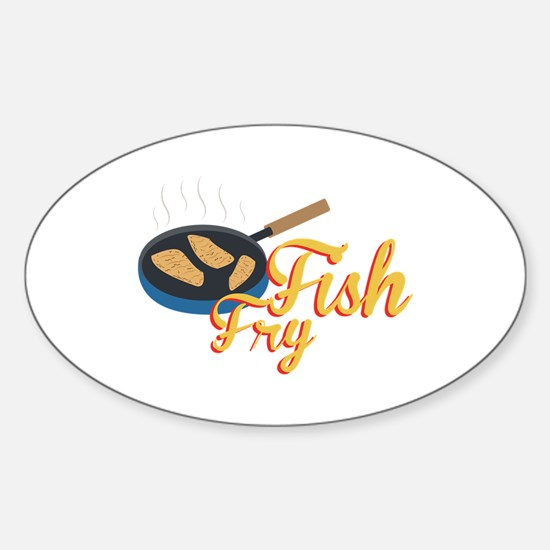 Fish Fry Food Decal