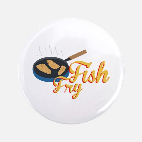 Fish Fry Food Button