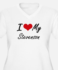 I Love My Stevenson Plus Size T-Shirt