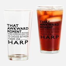 Harp Awkward Moment Designs Drinking Glass