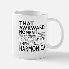 Harmonica Awkward Moment Designs Mug