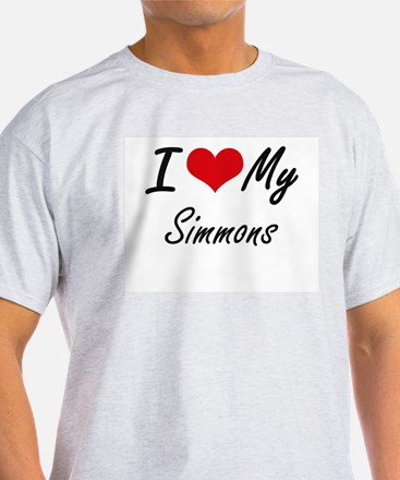 I Love My Simmons T-Shirt