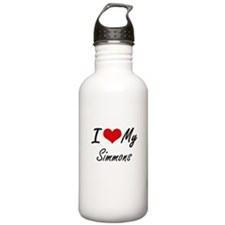 I Love My Simmons Water Bottle