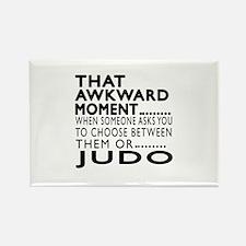 Judo Awkward Moment Designs Rectangle Magnet