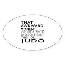 Judo Awkward Moment Designs Decal