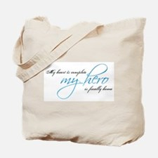My heart is complete Tote Bag