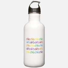 Rack O' Bicycles Water Bottle