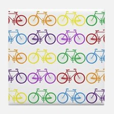 Rack O' Bicycles Tile Coaster
