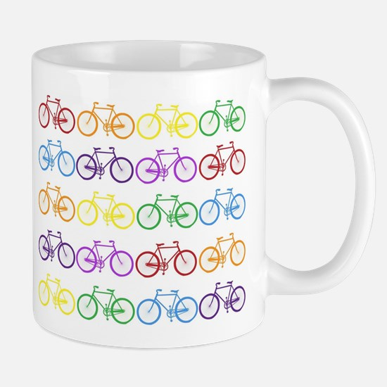 Rack O' Bicycles Mugs