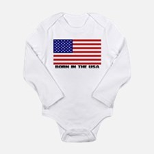 Funny July Long Sleeve Infant Bodysuit