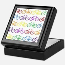 Rack O' Bicycles Keepsake Box