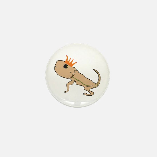 Royal Lizard Mini Button