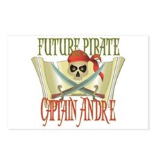 Captain Andre Postcards (Package of 8)