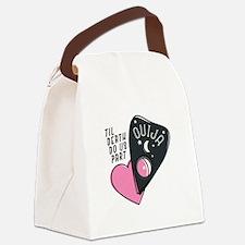 Til Death Canvas Lunch Bag