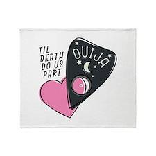 Til Death Throw Blanket