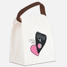 Call Me Canvas Lunch Bag