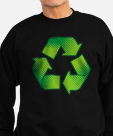 Cute Recycling symbol Sweatshirt