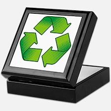 Cute Recycling Keepsake Box
