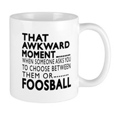 Foosball Awkward Moment Designs Mug