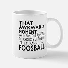 Foosball Awkward Moment Designs Mug