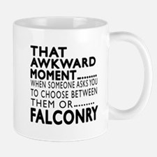 Falconry Awkward Moment Designs Mug