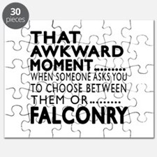 Falconry Awkward Moment Designs Puzzle