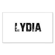 Lydia Rectangle Decal