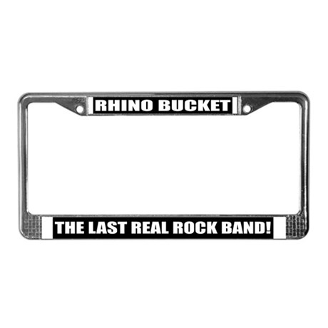Rhino Bucket License Plate Frame