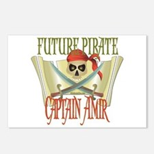 Captain Amir Postcards (Package of 8)