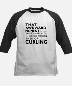 Curling Awkward Moment Design Tee
