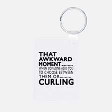 Curling Awkward Moment Des Keychains