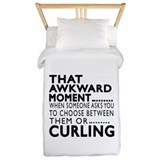 Curling Twin Duvet Covers