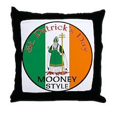 Mooney, St. Patrick's Day Throw Pillow
