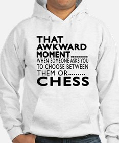 Chess Awkward Moment Designs Hoodie