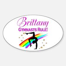 GREAT GYMNAST Sticker (Oval)