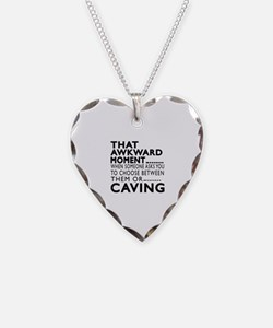 Caving Awkward Moment Designs Necklace