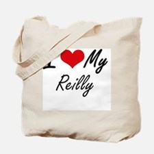 I Love My Reilly Tote Bag