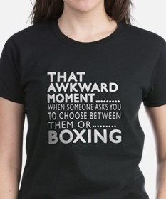 Boxing Awkward Moment Designs Tee