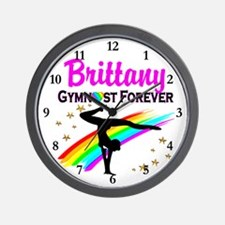 GREAT GYMNAST Wall Clock