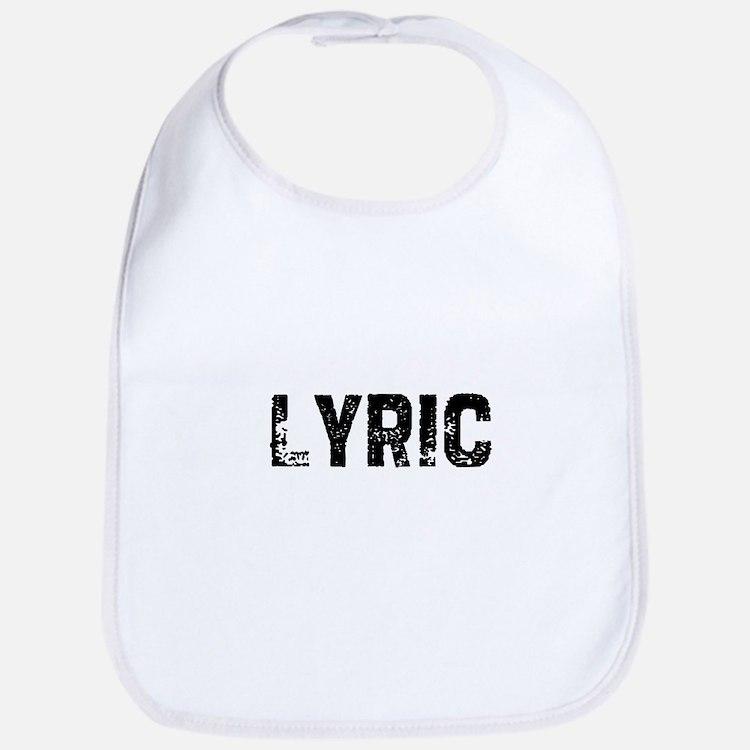 Lyric Bib