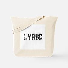Lyric Tote Bag