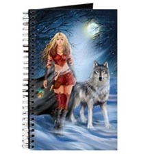 Warrior Woman and Wolf Journal
