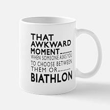 Biathlon Awkward Moment Designs Mug