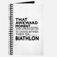 Biathlon Awkward Moment Designs Journal