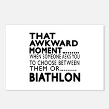 Biathlon Awkward Moment D Postcards (Package of 8)