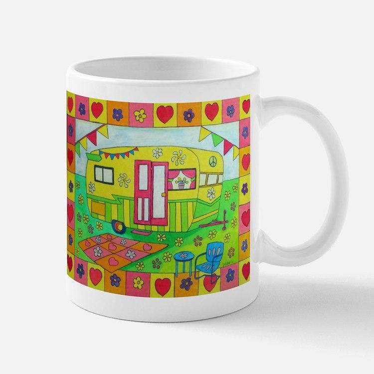 Glamping Camper Mugs